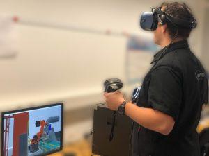 VR - Roboteranlagen virtuell Planen - ABB und KUKA Roboterzellen